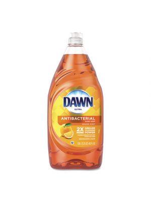 Ultra Antibacterial Dishwashing Liquid, Orange, 40 oz Bottle, 8/Carton