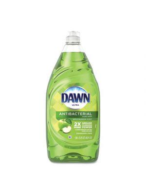 Ultra Antibacterial Dishwashing Liquid, Apple Blossom, 40 oz Bottle, 8/Carton