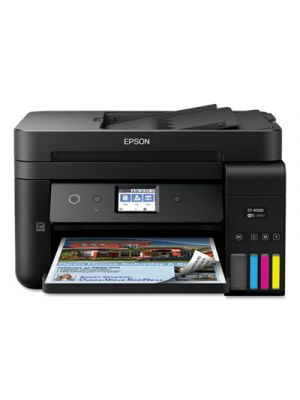 WorkForce® ST-4000 EcoTank® Color MFP Supertank Printer, Copy/Fax/Print/Scan