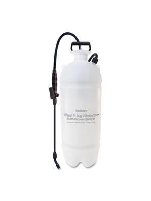 Standard Sprayer, Wand w/Flat Fan Nozzle, Polyethylene, 3 Gallon, White/Black