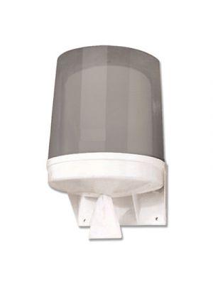 Center Pull Towel Dispenser, 10.04 x 10.55 x 14.17, Translucent Smoke