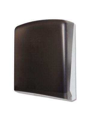 Multifold Towel Dispenser, 10.83 x 4.92 x 14.37, Smoke