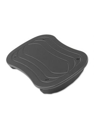 Foot Rocker Footrest, 17-1/2w x 11-1/2d x 3-1/2h, Black