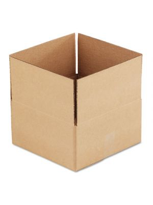 Brown Corrugated - Fixed-Depth Shipping Boxes, 12l x 12w x 6h, 25/Bundle