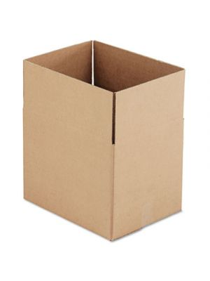 Brown Corrugated - Fixed-Depth Shipping Boxes, 16l x 12w x 12h, 25/Bundle