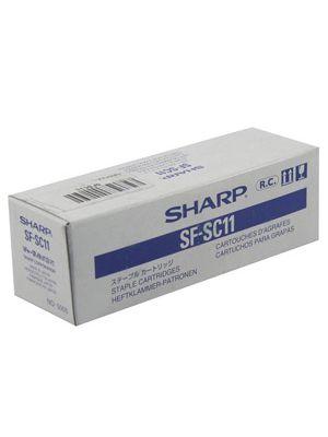 Sharp Brand Copier Staples that take the E1 staples, 3 cartridges/Box, (SF-SC11)