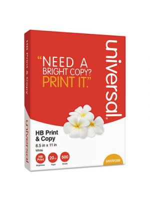 Multipurpose Copy Paper, 95-96 Bright, 20 lb, 8 1/2 x 11, White, 5000 Sheets/Carton