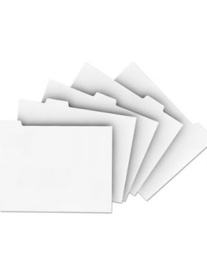 Single Reverse Collated Index Dividers
