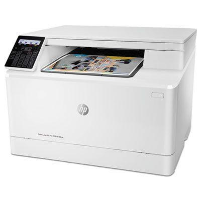 Color LaserJet Pro MFP M180nw Multifunction Laser Printer, Copy/Print/Scan